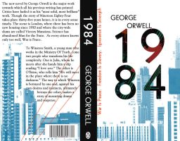 1984 George Orwell cover by LezzieLexi2QT2BSTR8