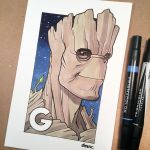 G is for Groot by D-MAC