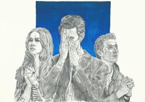 The Doctor and his Ponds by SuiPumpkin