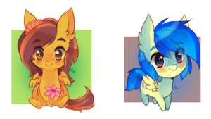 chibi pony batch 4 by pekou