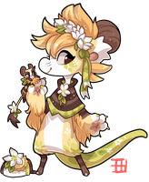 #427 Blessed Event Bagbean -Spring Equinox Auction by griffsnuff