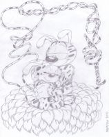 Marsupilami and Marsupilamie 3 by BabyMessina89