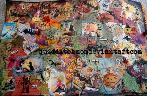 halloween pattern collage by quidditchmom