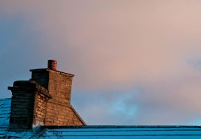 Rooftop by Quinnphotostock