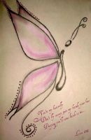 Butterfly by Lostrissy