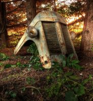 Tractor Grill Front by wreck-photography