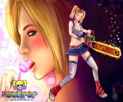 Lollipop Chainsaw by Kompot-san