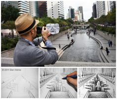 Sketch in Progress - Pencil Vs Camera - 77 by BenHeine