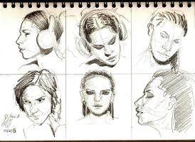 Faces Pencil by anime-master-96