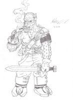 Pork The Barbarian by gaetano125