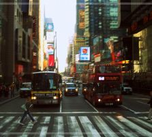 Photo - NYC Streets by NocturnalKitten-Art