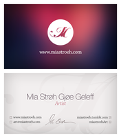 Mia Business Card by g30dud3