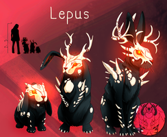 FanGrimm - Lepus by Blue-Hearts