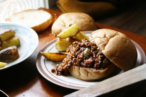 Sloppy Joes II by sasQuat-ch