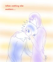 The Only thing... by XElairaX