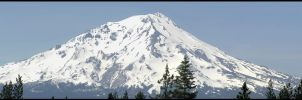 Mt. Shasta by Casperium