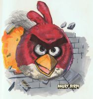 Angry Birds by Elfigos