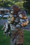 Preview of my hubby's new GOW locust by cimmerianwillow