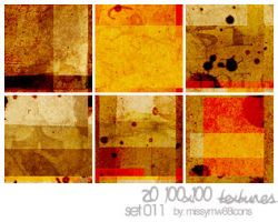 20 100x100 Textures - Set 011 by hakanaidreams