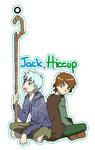 Keychain Jack and Hiccup by MugenMusouka