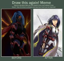 Before and After meme by UjgurDS