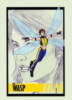 Wasp - Woman of Marvel by CDL113