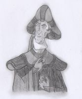 The Good in Frollo - Shadowed Concept Art by yami0815