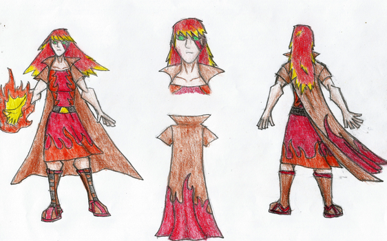 character design contest: Brire for Briar Fire by Newworlds117