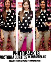 Photopack N13 Victoria Justice by CelebrityPhotopacks