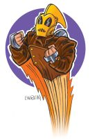 The Rocketeer by mengblom