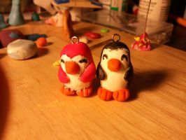 Penguin Pals Clay by UntouchedRayne