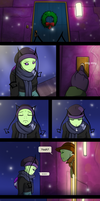 comic: Christmas gift by InvaderVicky
