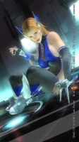 DEAD OR ALIVE 5 Last Round Tina56 by aponyan
