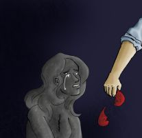 Pewdiepie_Who has the stone heart? by Abecedye