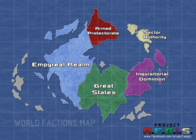 Project AEGIS: World Map by ZEroePHYRt