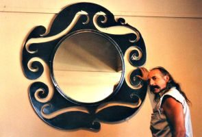 Art Nouveau Mirror by ou8nrtist2