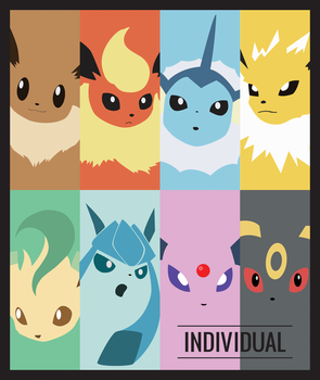 Eeveelution Poster by ABusby