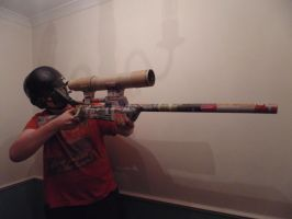 TF2 Stock Sniper Rifle Update No. 25 by WeasleFire