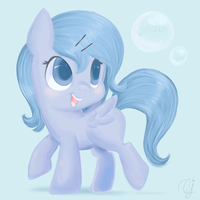 Bubble Pop by InkieHeart