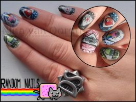 Random nail art by Ninails