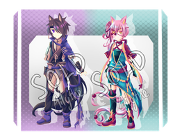 Semi-Chibi Kemonomimi Adopts [CLOSED] by Ailythe