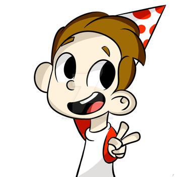 A Drawing i made for a friend's bd by NabilMohamed23