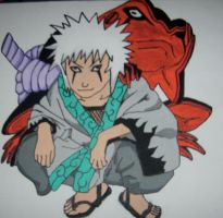 young Jiraya by mento123