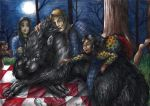 Hannibal - Picnic with the werewolf by FuriarossaAndMimma