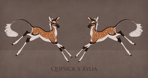 Quipstick x Xylia Fawn Design by TigressDesign