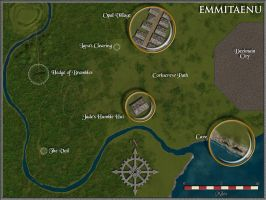 Emmitaenu Map by Sapiento