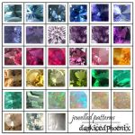 Jewel Patterns by darkicedphoenix