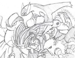 My Pokemon Omega Ruby team by Brian12