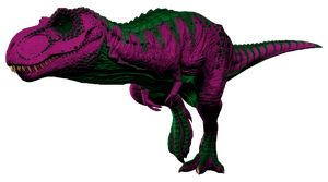 Barneysaurus Rex 2 by FiftyFootWhatever