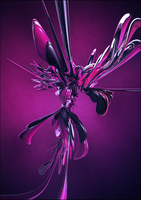 Fuchsia Wings by HelixDesigner